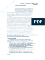 Taksonomi Tumbuhan Tingkat Rendah