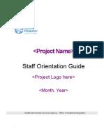 Staff Orientation Guide