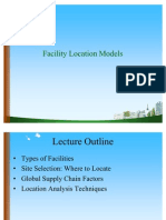 Facility Location Models PPT @ DOMS