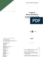 Alonso, Andoni - Carta Al Homo Ciberneticus