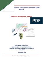 Financial Management Manual TEQIP II