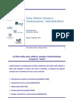 UNIVERSITA BOCCONI - Alessandro Nova - Carta Editoria Stampa e Trasformazione I Dati Della Filiera