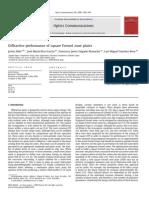 Javier Alda et al- Diffractive performance of square Fresnel zone plates