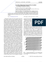 Y. F. Chen et al- Devil's Staircase in Three-Dimensional Coherent Waves Localized on Lissajous Parametric Surfaces