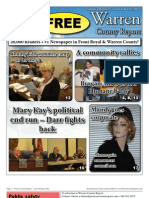 The Late February, 2012 edition of Warren County Report
