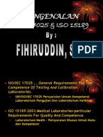 ISO 17025 vs 15189