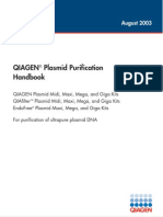 Qiagen Plasmid Purification Handbook