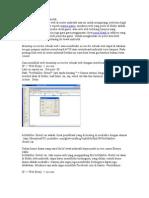 Blok Web Di Router Mikrotik Nawala