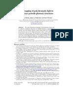 Kristian Motzek, Andrey A. Sukhorukov and Yuri S. Kivshar- Self-trapping of polychromatic light in nonlinear periodic photonic structures