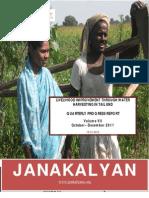 JANAKALYAN's Livelihood Improvement Intervention Report (Vol VII)