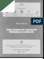 Equipos de Transporte Minero