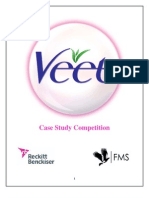 RB India Veet Case Study Competition