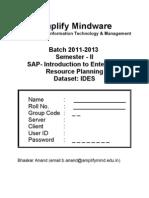 SAP R3 SD Manual