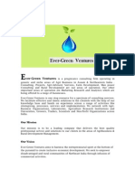 Ever-Green Ventures  Doc