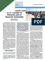 Hacia la Construcción de un Concepto de Educación para el Desarrollo Sustentable