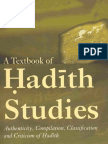 A Textbook of Hadith Studies