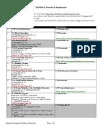 Zaheer Ali - Malcolm X Syllabus Schedule