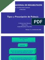 Tipos Protesis_ Amputacion de Miembros Superiores e Inferiores