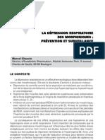 La dépression respiratoire des morphiniques _ prévention et surveillance clinique