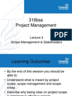 Lecture 3 316bss Scope Management 2010-11