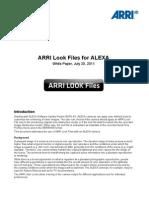 ARRI Look Files White Paper 3