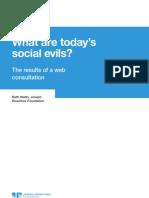 Social Evils Report