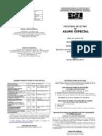 PPGL UFES Fôlder Aluno especial 20121