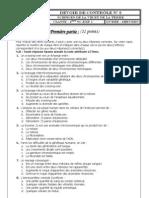 Devoir de Contrôle N°2 - SVT - Bac Sciences exp (2011-2012)