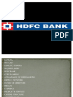 Hdfc Core Banking