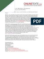 Pressemeldung 2012-03 - Neues Firmenvideo der Beckumer Textagentur ONLINETEXTE.com jetzt auf YouTube