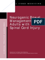Neurogenic Bowel Management