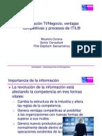Ventajas Competitivas Alineacion e ITIL