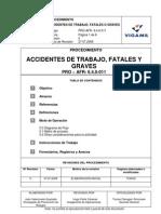 Procedimiento Accidentes de Trabajo Fatales o Graves[1]