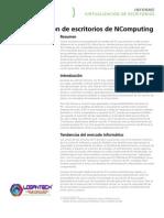 Ficha Tecnica NComputing  www.Logantech.com.mx