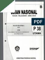 Matematika 2009-2010 B