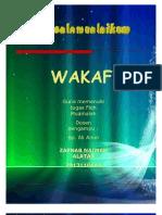 Waqaf | Wakaf | Fiqh Muamalah . by Zaenab Naimah A