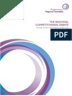 The Regional Competitiveness Debate