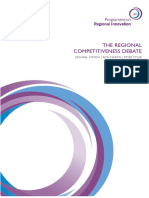 The Regional Competitiveness Debate