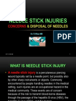 Needle Stick Injuries