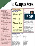 FWBBC Campus News 02-17-2012