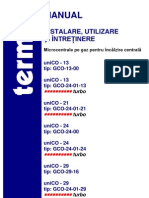 Manual Utilizare Instalare Termet Unico