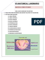 Mandibular Anatomical Landmarks
