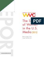 Status of Women in US Media (2012)
