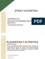 PLANIMETRIA Y ALTIMETRIA