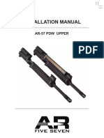 AR57 Upper Receiver Installation Manual