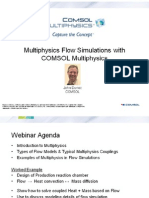 COMSOL Multi Physics Flow Simulations