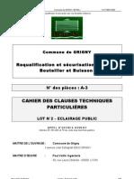 Cctp Eclairage-public
