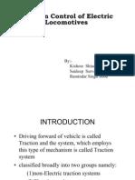 Tc of Electric Locomotives
