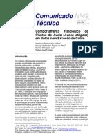 comunicado técnico - Comportamento Fisiológico de plantas de aveia em solos com excesso de cobre