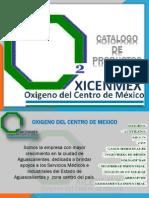 Catalogo 2012 OXICENMEX
